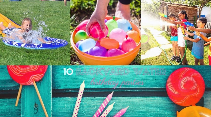 Backyard Water Birthday Party Ideas