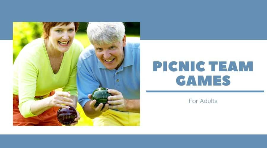 Picnic Team Games For Adults