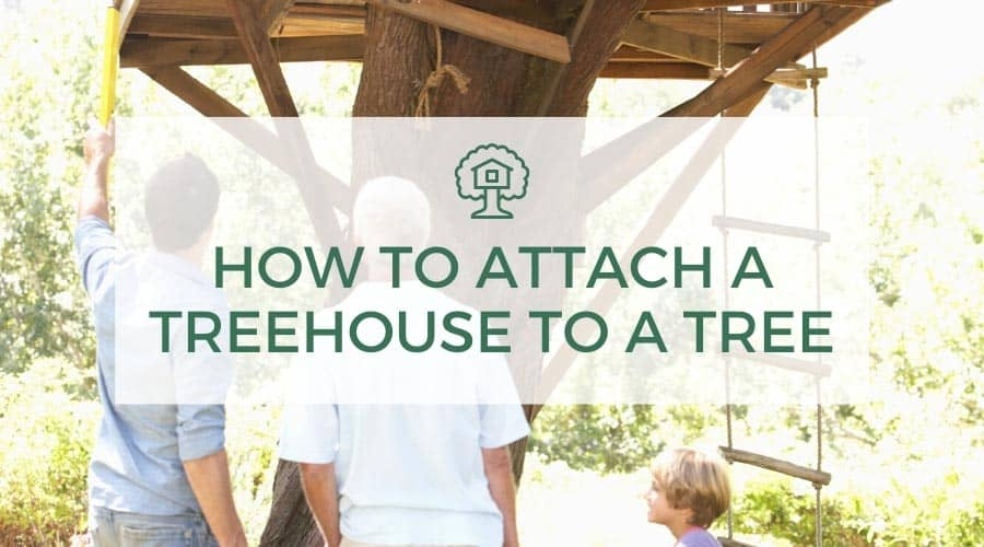 How To Attach A Treehouse To A Tree