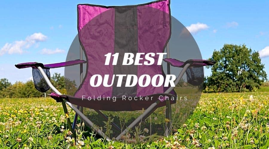 Outdoor Folding Rocker Chair