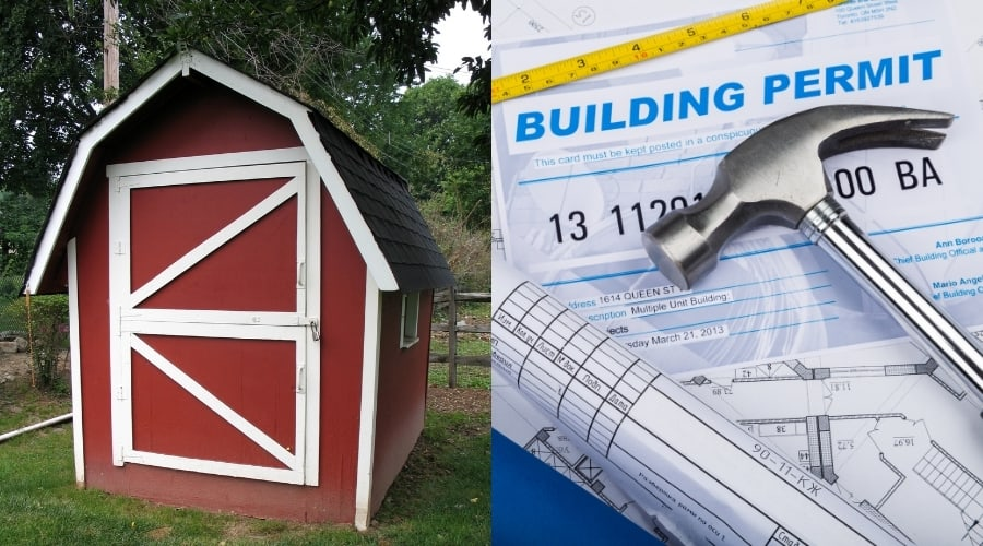Do I Need A Permit To Move A Shed