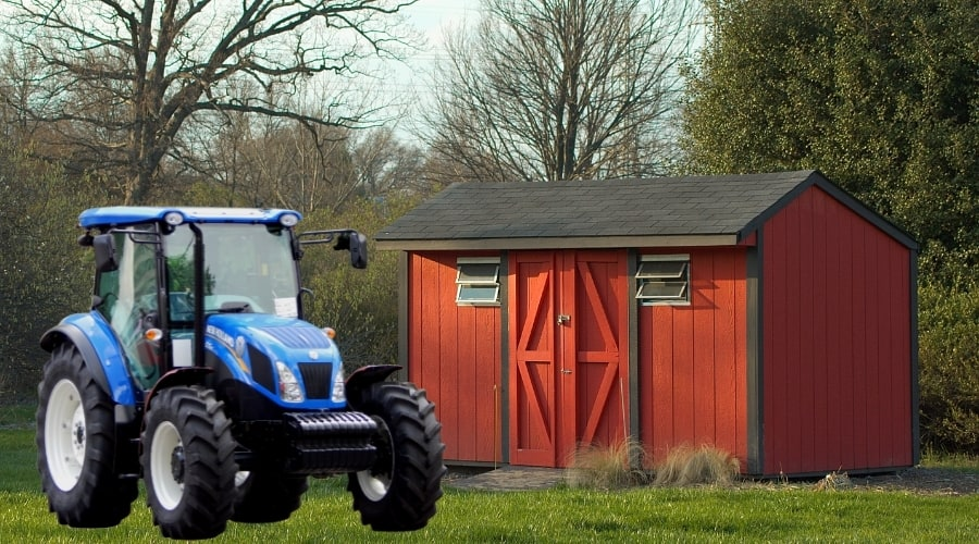 How To Move A Shed With A Tractor